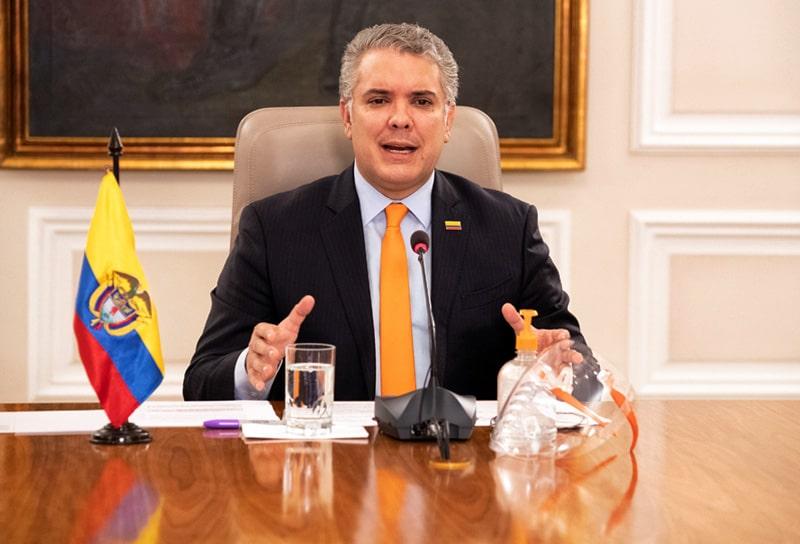 Colombia, coronavirus COVID-19, Iván Duque (33)