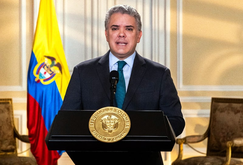 Iván Duque, Colombia, coronavirus COVID-19 (35)