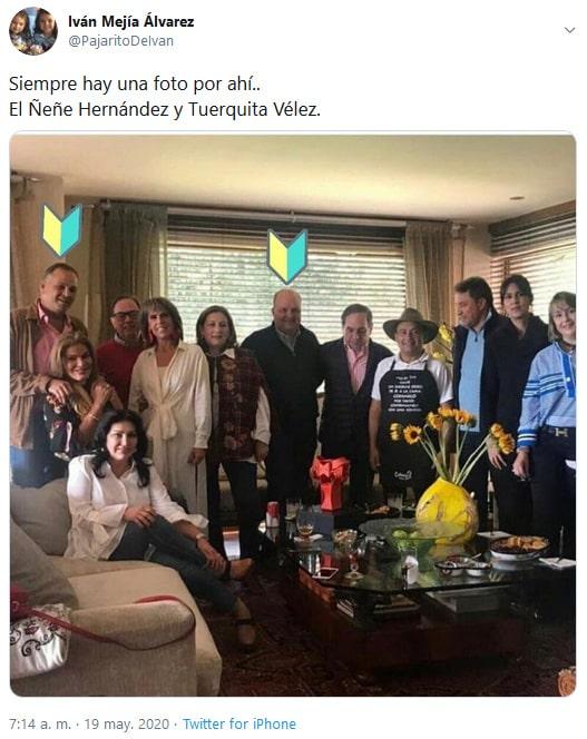 Iván Mejía, Jorge Enrique Vélez, Ñeñe Hernández