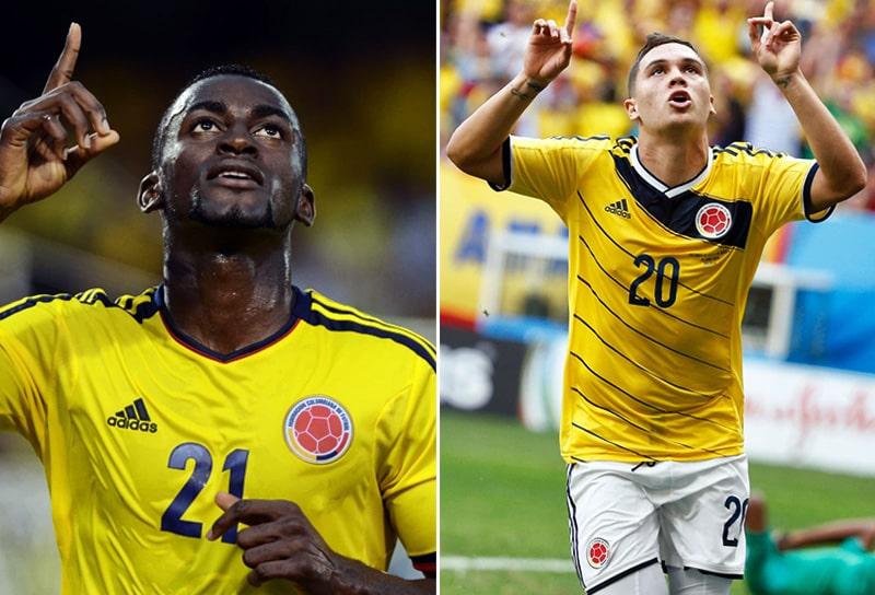 Jackson Martínez, Juan Fernando Quintero, Selección Colombia, FC Porto