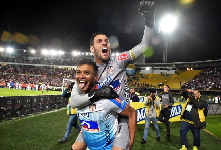 Teófilo Gutiérrez, Sebastián Viera, Junior FC bicampeón Liga Águila
