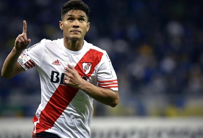 Teófilo Gutiérrez, ex River Plate