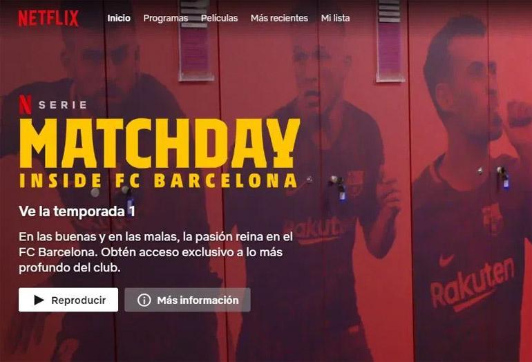 Barcelona Matchday Netflix