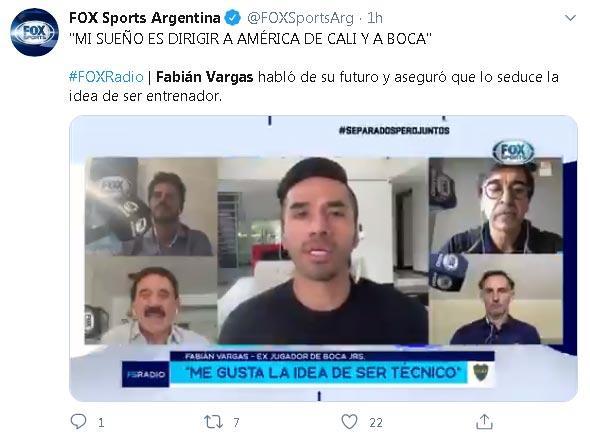 Fabián Vargas América de Cali