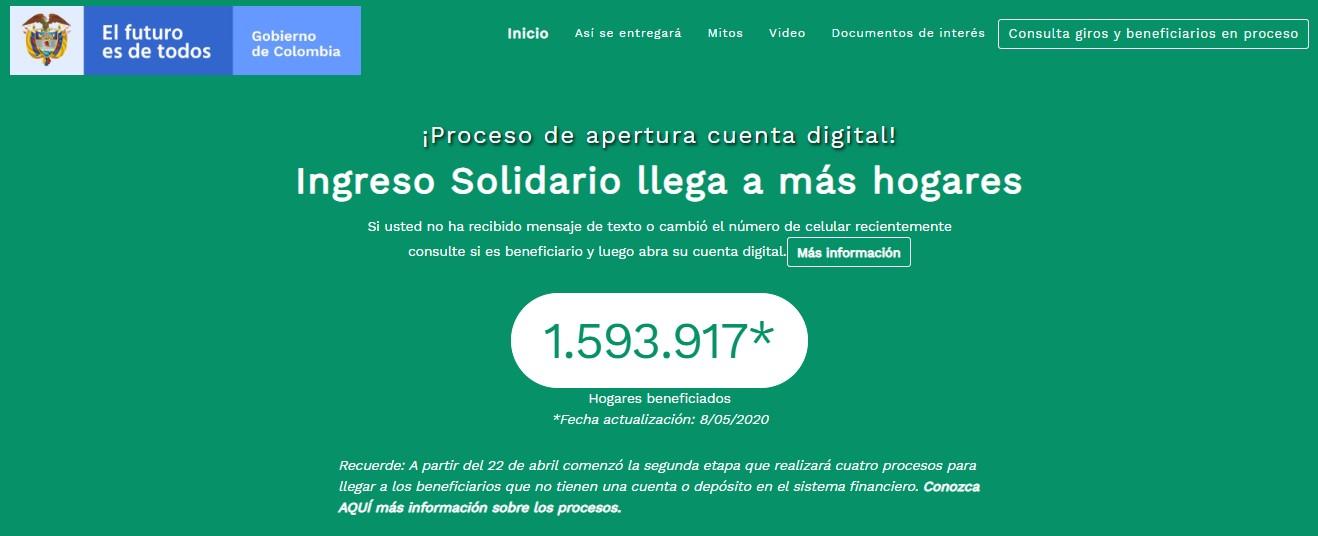 ¿Cómo cobrar los $320.000 del Ingreso Solidario DNP? Consulta la web 1