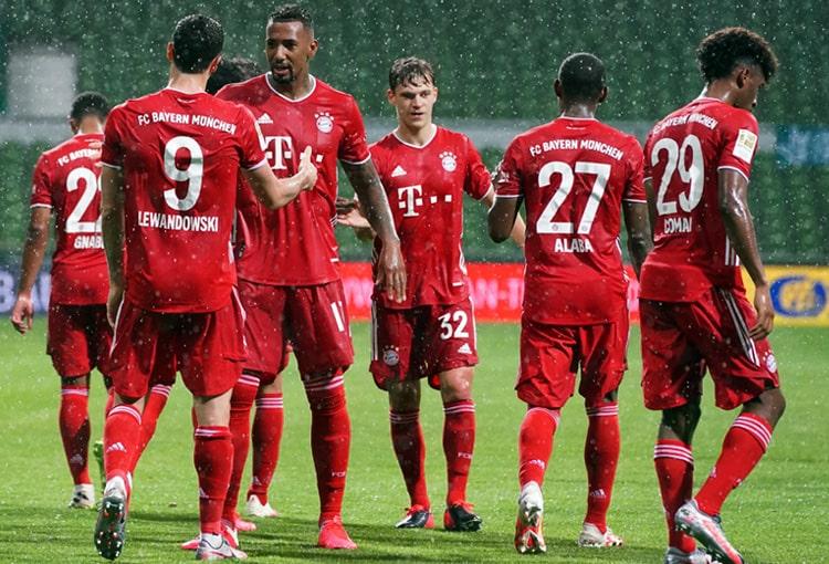 Bayern Múnich, campeón, Bundesliga 2019-20