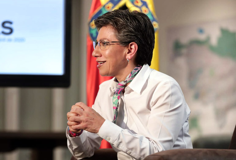 Claudia López, Iván Duque, día sin IVA, Bogotá, Colombia, coronavirus COVID-19