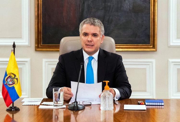 Colombia, Aislamiento Preventivo Obligatorio, coronavirus COVID-19, Iván Duque (1)
