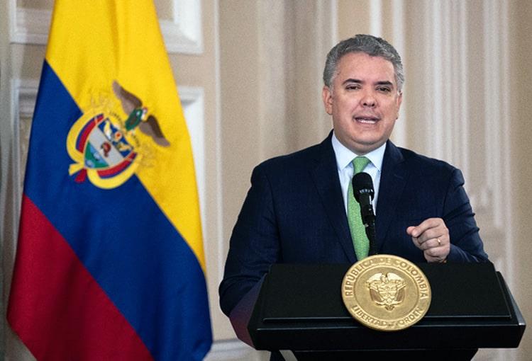 Colombia, Iván Duque, coronavirus COVID-19