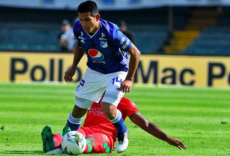 David Mackalister Silva, Millonarios FC vs. Patriotas Boyacá, Liga 2019-II