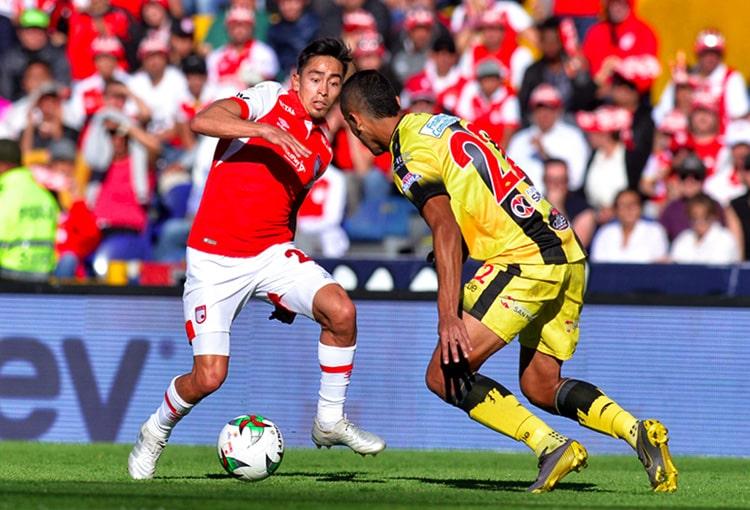 Fabián Sambueza, Independiente Santa Fe vs. Alianza Petrolera, Liga 2019-II