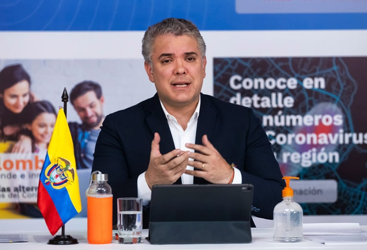 Iván Duque, Colombia, coronavirus COVID-19 (37)
