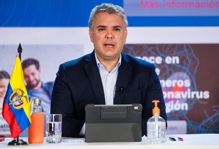 Iván Duque, Colombia, coronavirus COVID-19 (39)