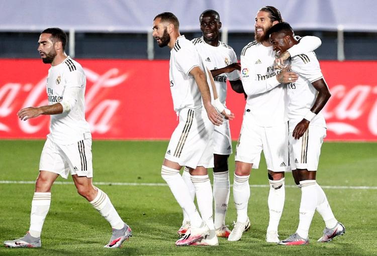 James Rodríguez, Real Madrid 2 - 0 Mallorca, LaLiga 2019-20