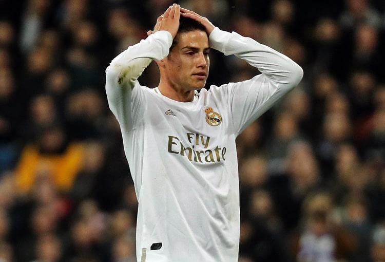 James Rodríguez, Real Madrid, Champions League 2019-20 (1)