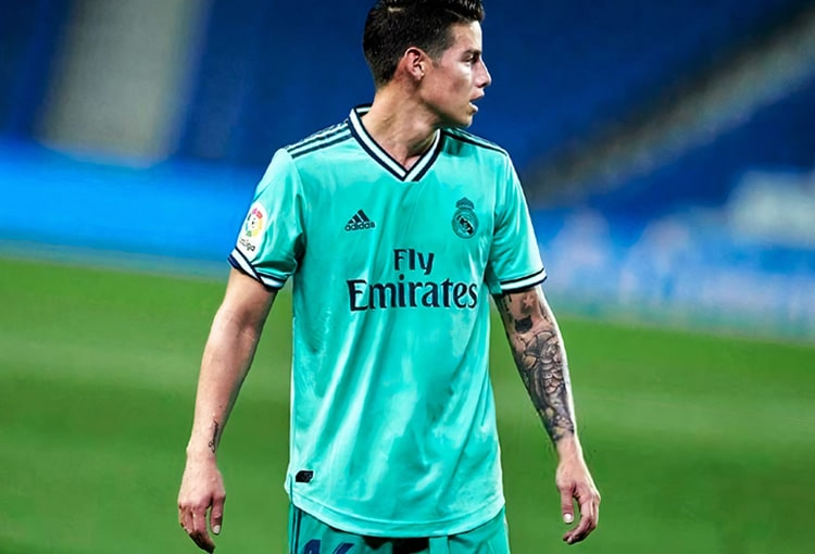 James Rodríguez, Real Madrid, LaLiga 2019-20 (5)