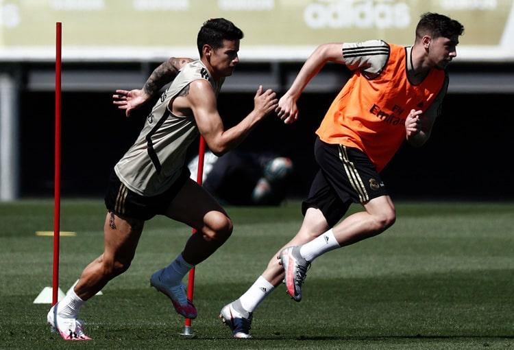 James Rodríguez, Real Madrid, LaLiga 2019-20 (6)