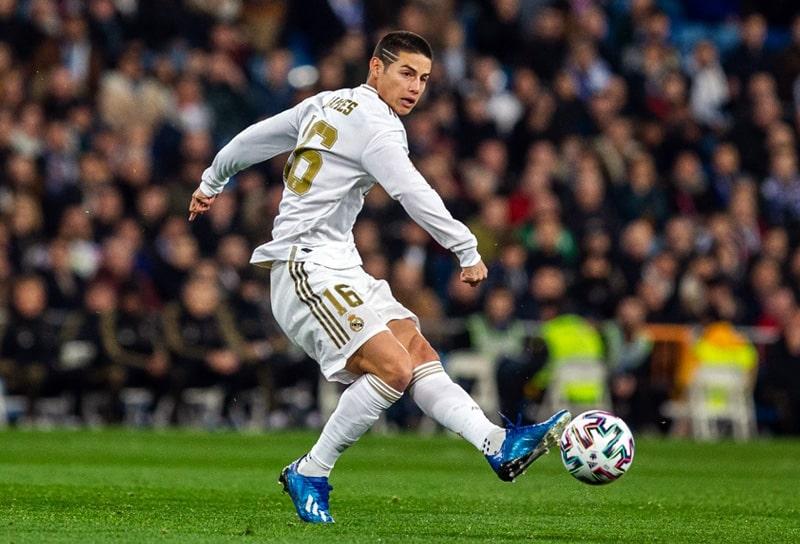 James Rodríguez, Real Madrid, LaLiga 2019-20