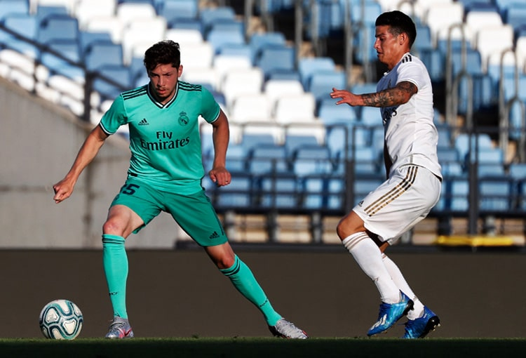 James Rodríguez, Real Madrid, LaLiga de España 2019-20 (1)