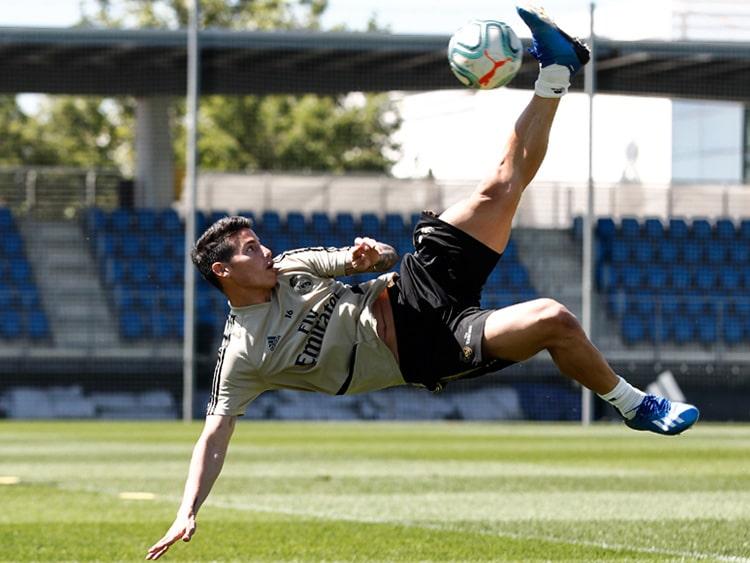 James Rodríguez, Real Madrid, LaLiga de España 2019-20 (3)