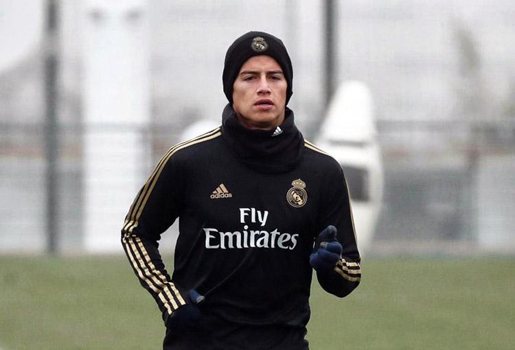 James Rodríguez, Real Madrid, LaLiga de España 2019-20 (5)