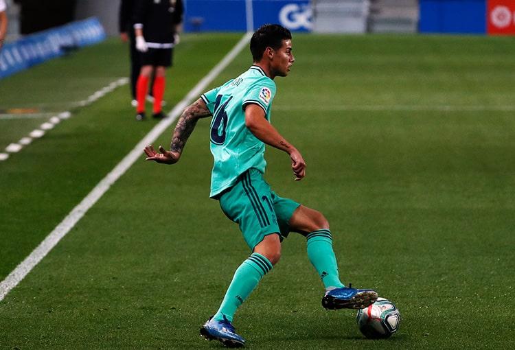 James Rodríguez, Real Sociedad 1 - 2 Real Madrid, LaLiga 2019-20