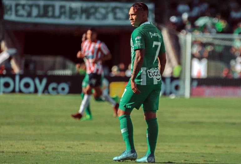 Jarlan Barrera, Atlético Nacional 0 - 1 Junior FC, Liga 2019-II (1)
