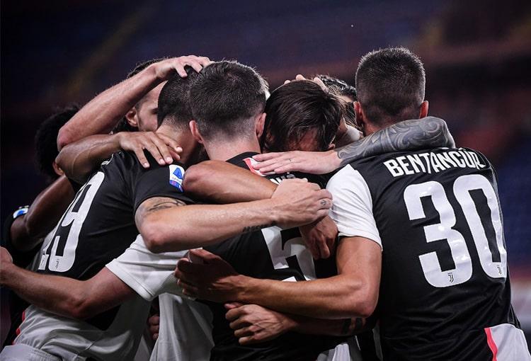 Juan Guillermo Cuadrado, Genoa 1 - 3 Juventus, Serie A 2019-20 (1)