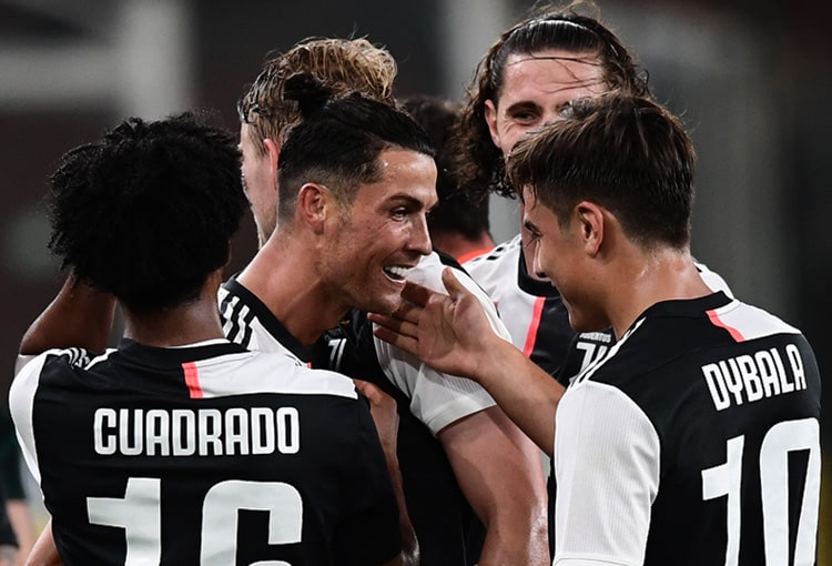 Juan Guillermo Cuadrado, Genoa 1 - 3 Juventus, Serie A 2019-20 (2)