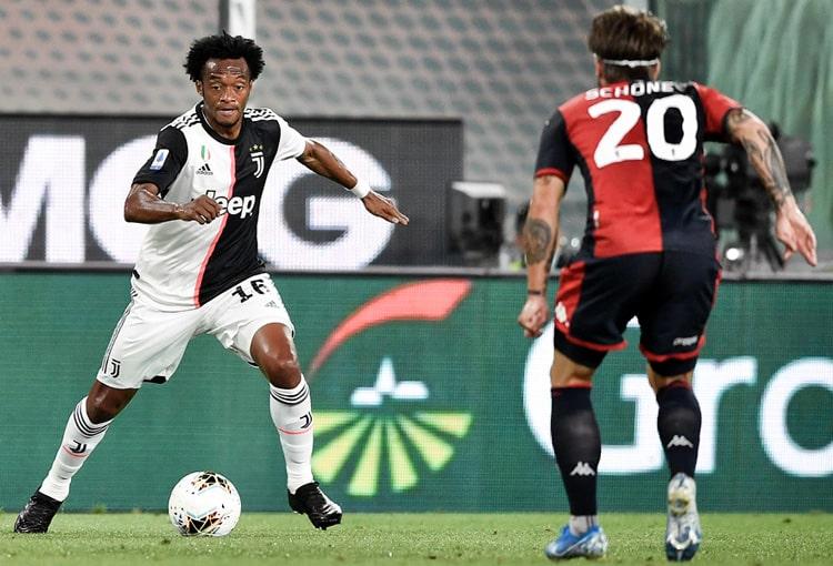 Juan Guillermo Cuadrado, Genoa 1 - 3 Juventus, Serie A 2019-20