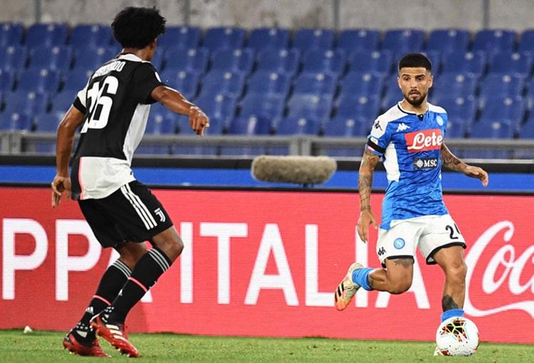 Juan Guillermo Cuadrado, Juventus 0 - 0 Napoli, Copa Italia 2019-20