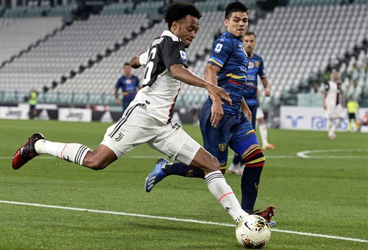 Juan Guillermo Cuadrado, Juventus 4-0 Lecce, Serie A 2019-20 (2)