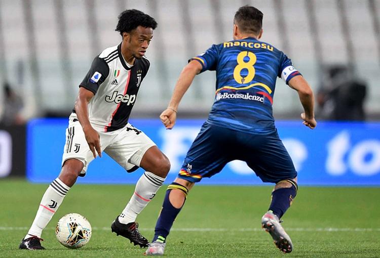Juan Guillermo Cuadrado, Juventus 4-0 Lecce, Serie A 2019-20