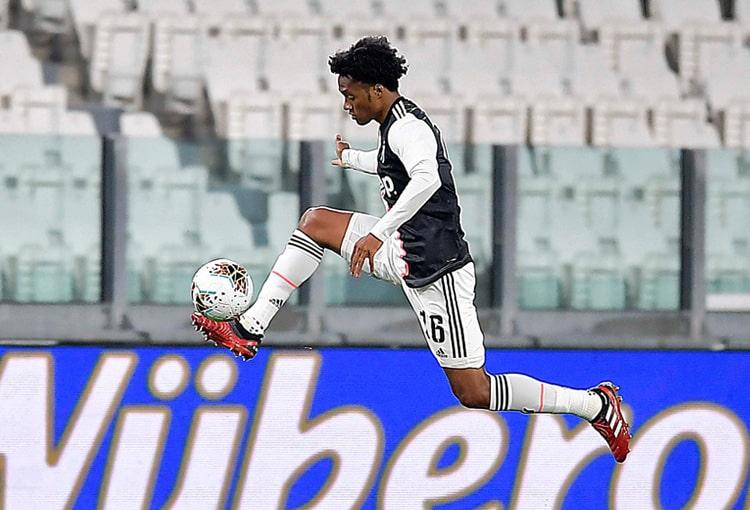 Juan Guillermo Cuadrado, Juventus FC 0-0 AC Milan, Copa Italia 2019-20