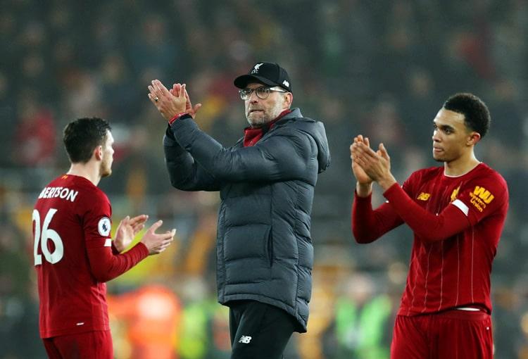 Liverpool FC, Jürgen Klopp, Premier League 2019-20 (1)
