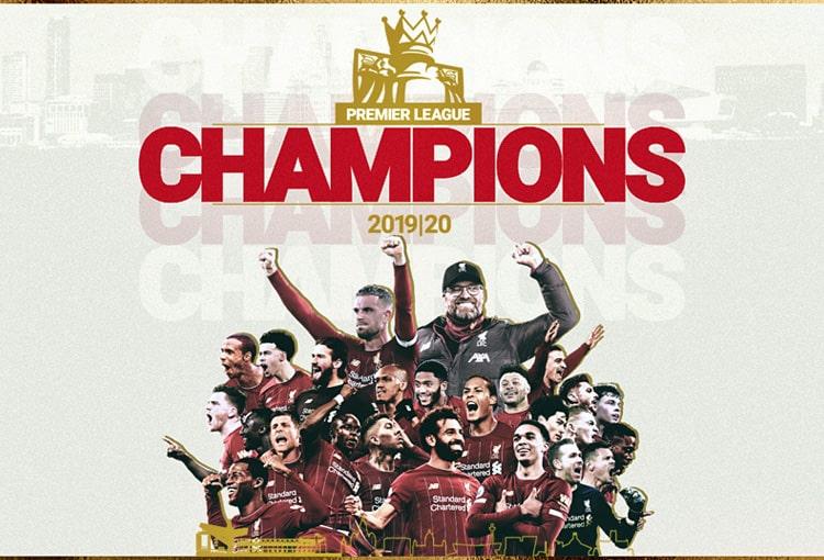 Liverpool FC, Premier League 2019-20, campeón