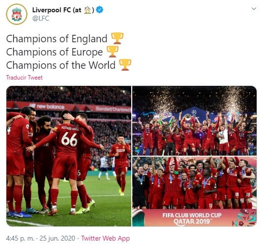 Liverpool, Premier League 2019-20, campeón (2)