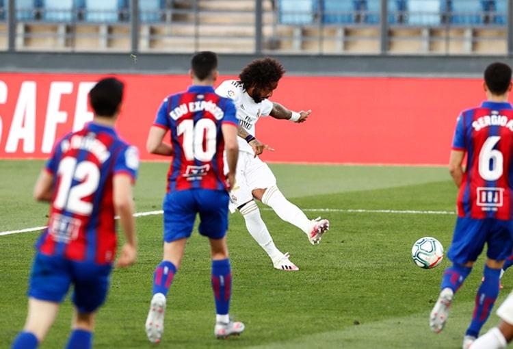 Marcelo, Real Madrid 3-1 SD Eibar, LaLiga 2019-20
