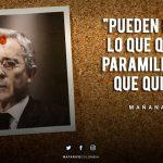 Matarife: un genocida innombrable, Álvaro Uribe Vélez