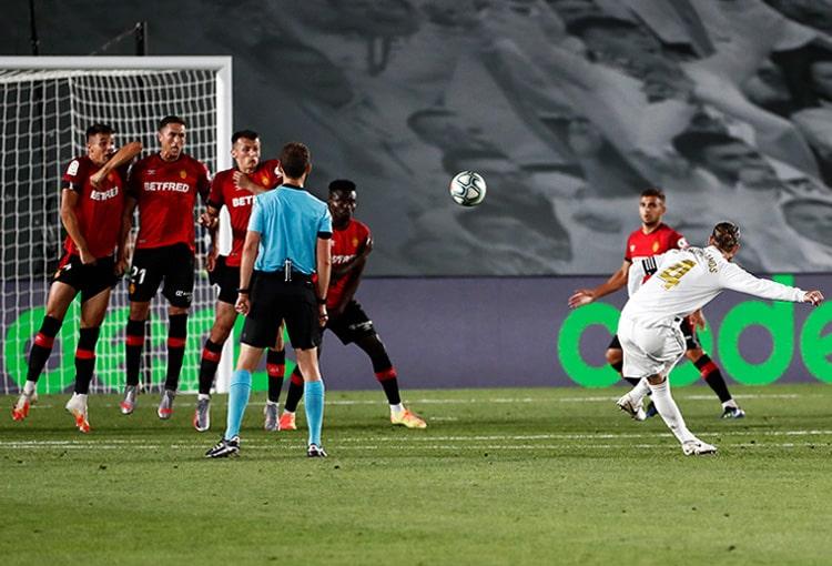 Real Madrid 2-0 Mallorca, LaLiga 2019-20