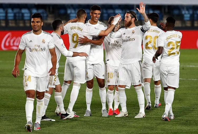 Real Madrid 3-0 Valencia, LaLiga de España 2019-20