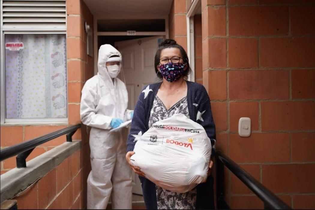 Cómo pedir el ingreso a Bogotá Solidaria en Casa