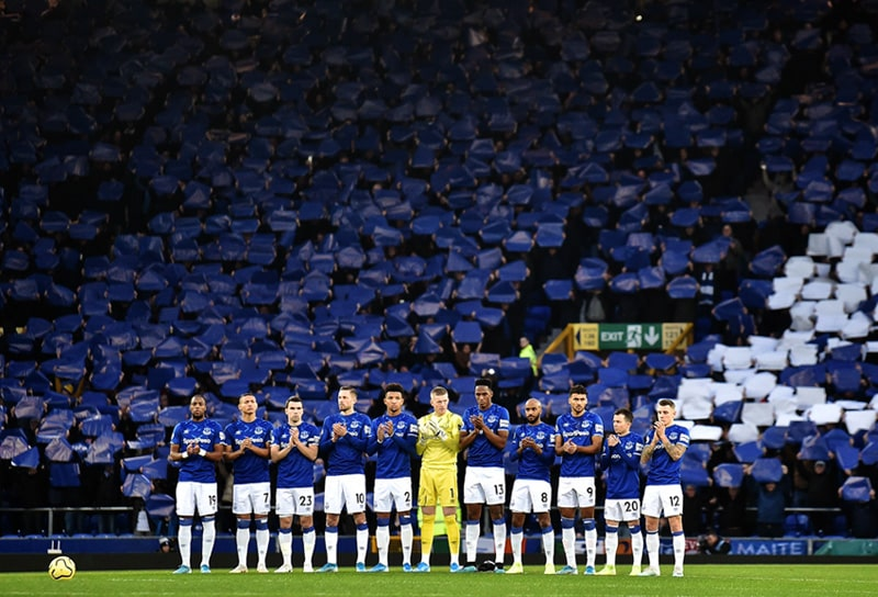 Yerry Mina, Everton FC, Premier League 2019-20