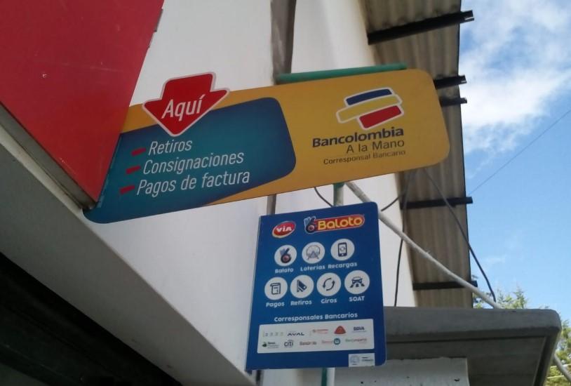 Cómo cobrar el Ingreso Solidario por Bancolombia en la toma de municipios corresponsales bancarios
