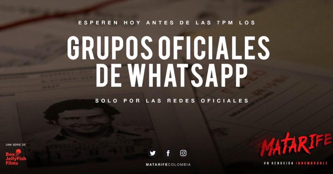 Grupos oficiales de WhatsApp para ver Matarife