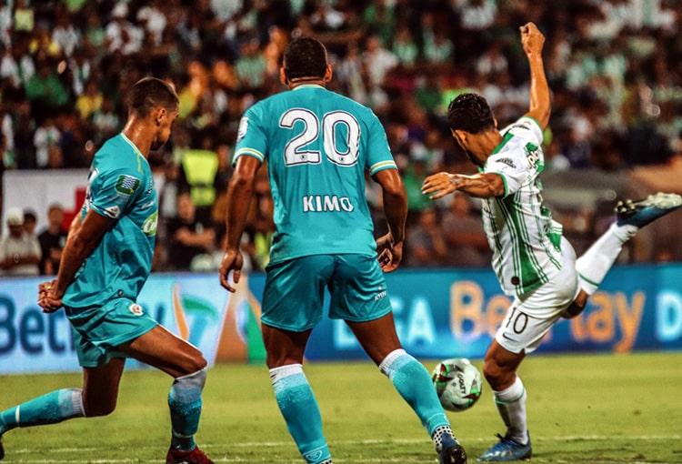Andrés Andrade, Atlético Nacional 1 - 2 Jaguares FC, Liga 2020-I