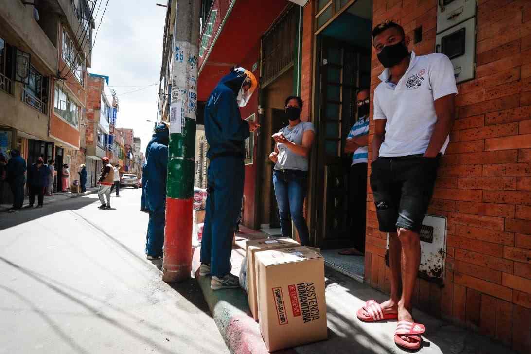 Consultar con la cédula si es beneficiario de Bogotá Solidaria en Casa