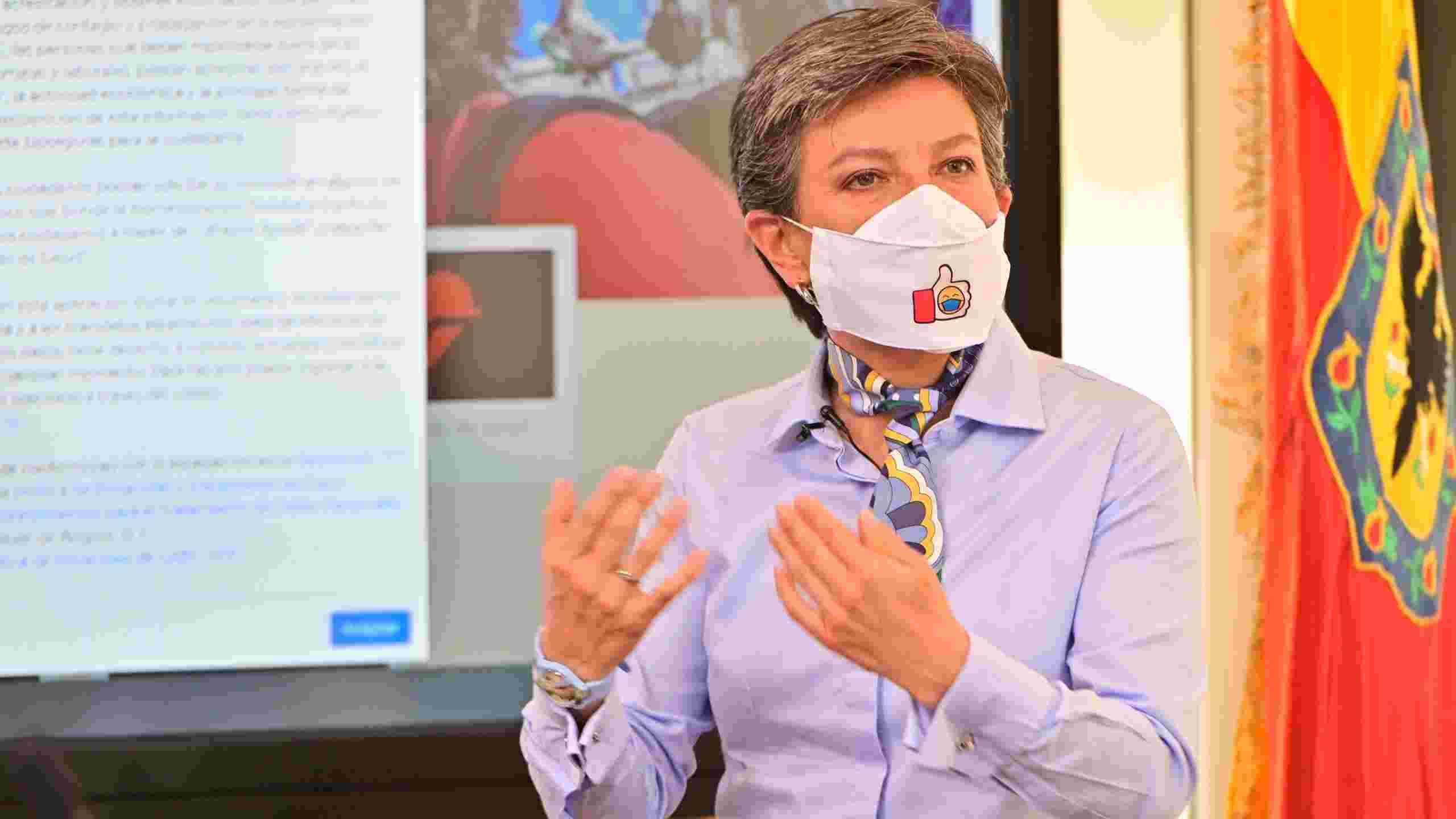 Claudia López recomienda registrarse en Bogotá Cuidadora