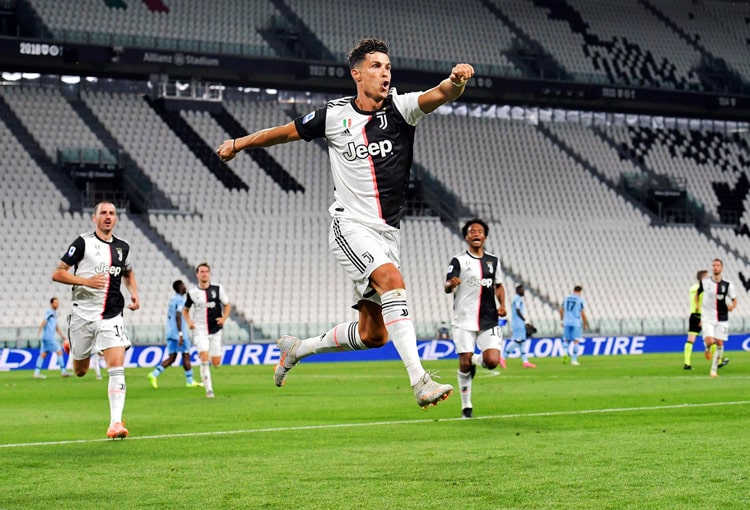 Cristiano Ronaldo, Juan Guillermo Cuadrado, Juventus FC, Serie A 2019-20