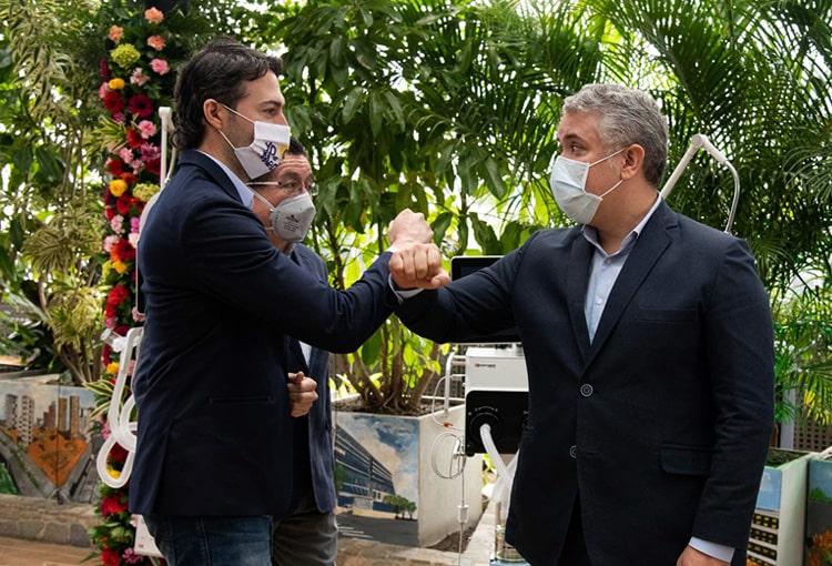 Daniel Quintero, Iván Duque, Medellín, Colombia, COVID-19, nuevo coronavirus